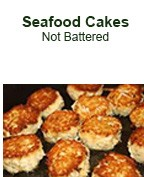 Seafood Cakes - Not Battered